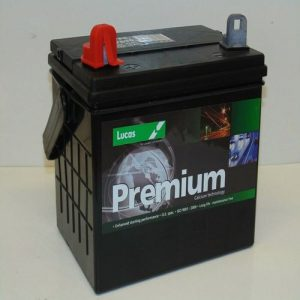 896 Lucas Motorcycle and Lawnmower Battery